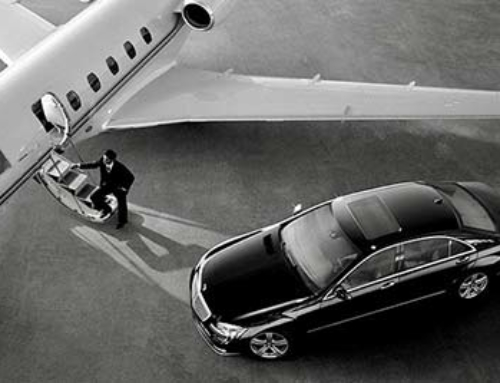 Transfert limousine aviation privée